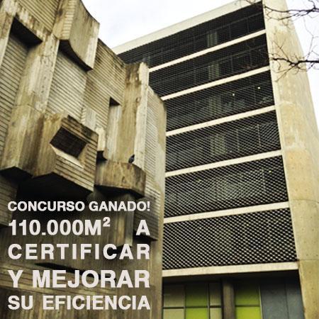 certificación energética edificios públicos SEPE