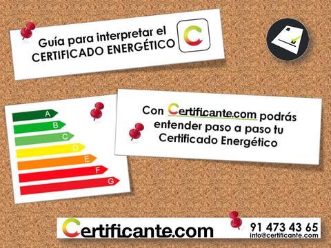 GUÍA PARA INTERPRETAR EL CERTIFICADO ENERGÉTICO